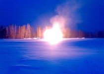 Сжигание порохов твердотопливных реактивных двигателей