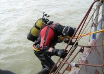 Водолазные работы в акватории Балтийского моря