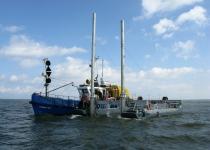Обследование акватории в Кронштаде