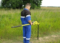 Обследование местности на наличие взрывоопасных предметов